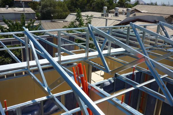Foto Construcci N De Serchas En Metalcon Estructural 2x4