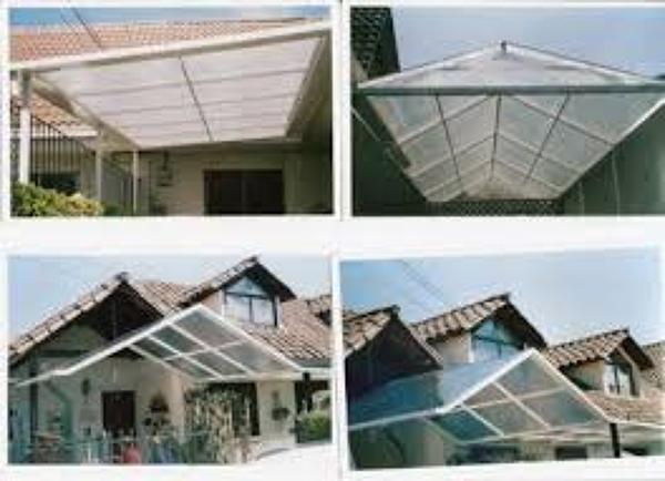Foto diferentes tipos de cobertizos de gasfiteria hogar for Cobertizos metalicos para jardin