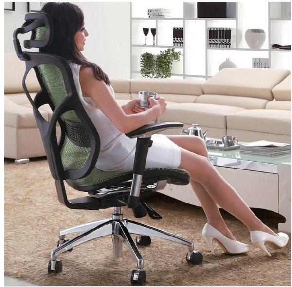Foto silla ergonomica de brown sa 42682 habitissimo for Sillas ejecutivas para oficina