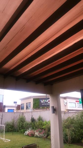 Foto techo terraza policarbonato de rbconstrucciones 106061 habitissimo - Techos terrazas ...