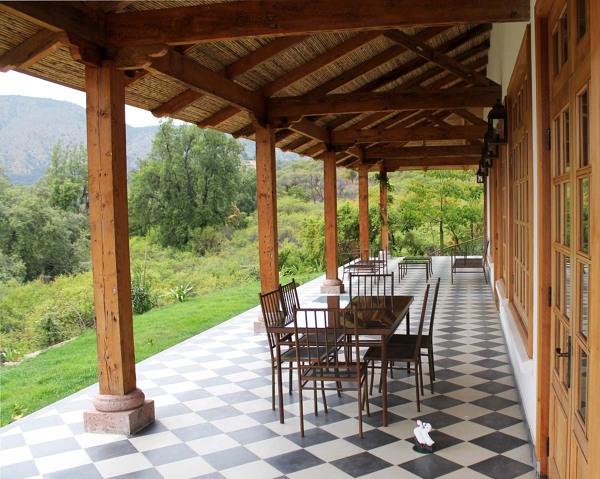 Foto Terraza Colonial De Jose Ignacio Molina Arquitectos