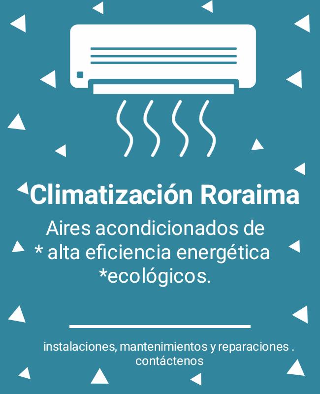 Climatización Roraima