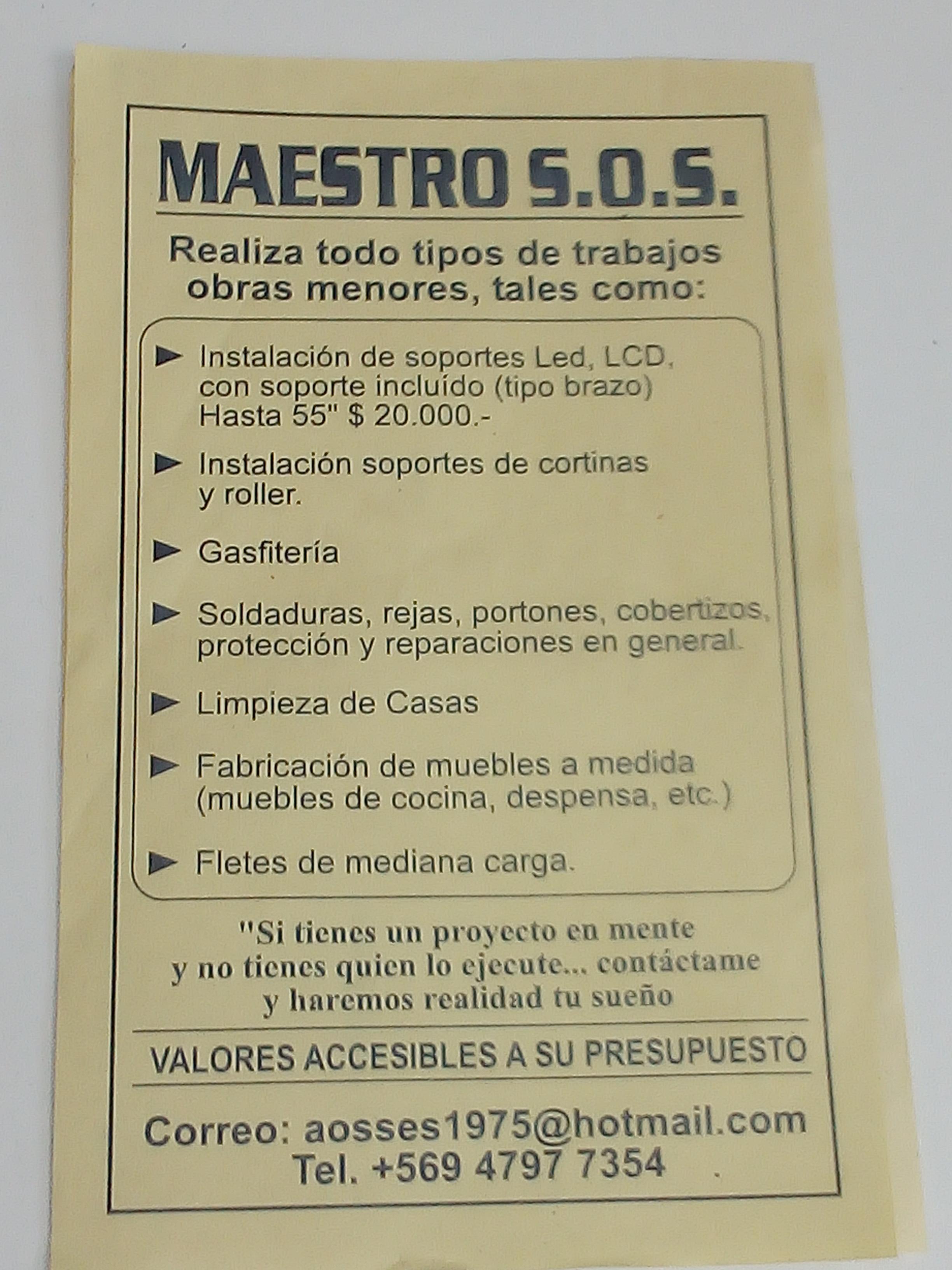 Maestro S.O.S
