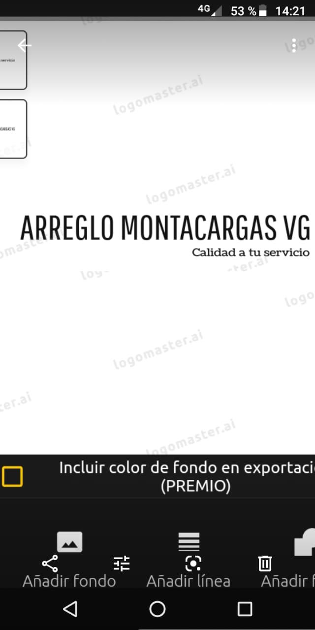 Arreglos Montacargas Vg