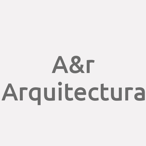 A&R Arquitectura