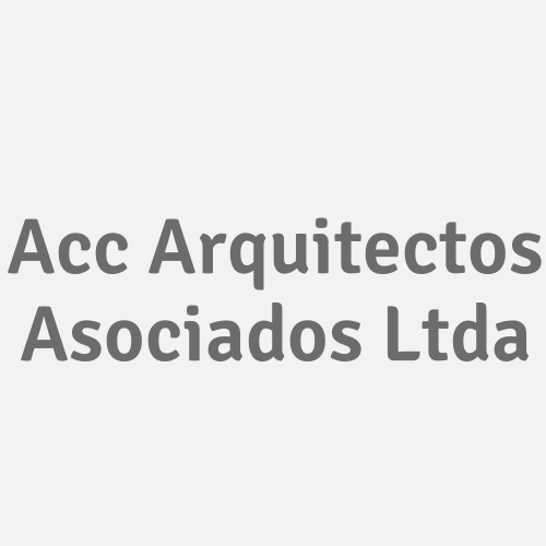 Acc Arquitectos Asociados Ltda