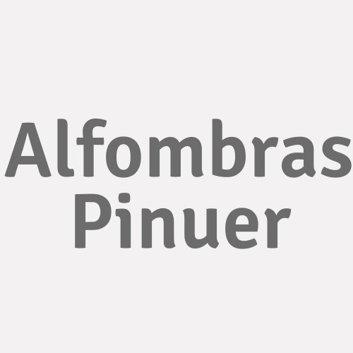 Alfombras Pinuer
