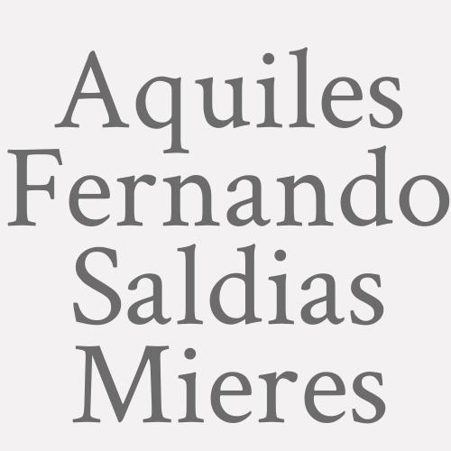 Aquiles Fernando Saldias Mieres