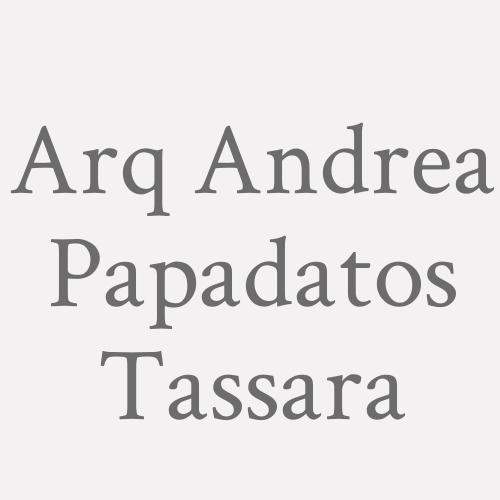 Arq. Andrea Papadatos Tassara