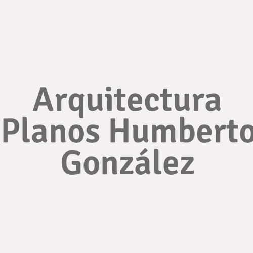 Arquitectura Planos Humberto González