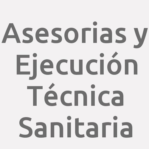 Asesorias Y Ejecución Técnica Sanitaria