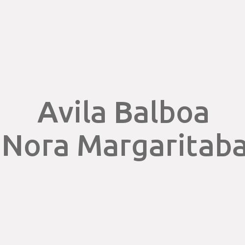 Avila Balboa Nora Margarita