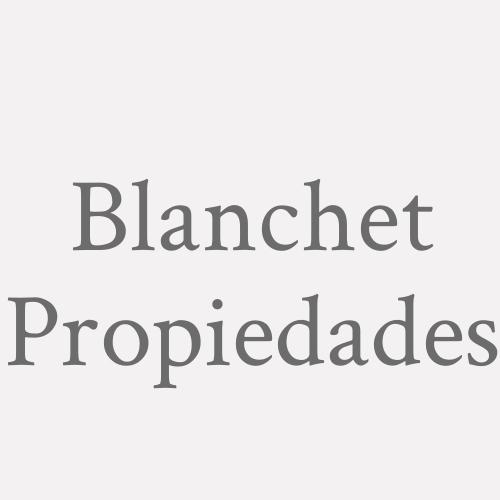 Blanchet Propiedades