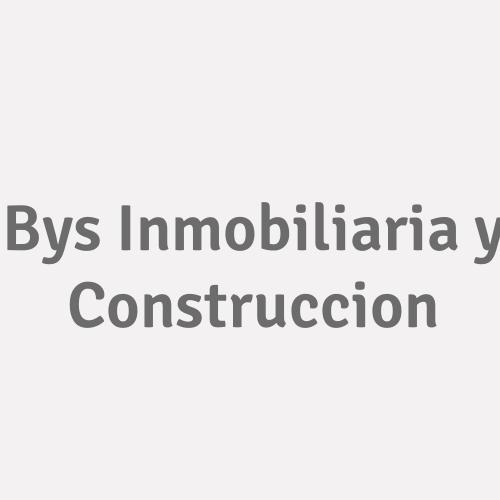 Bys Inmobiliaria Y Construccion