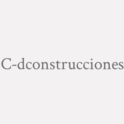 C-dconstrucciones