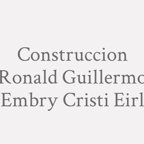 Construccion Ronald Guillermo Embry Cristi Eirl