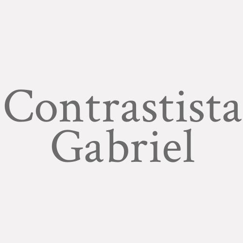 Contrastista Gabriel