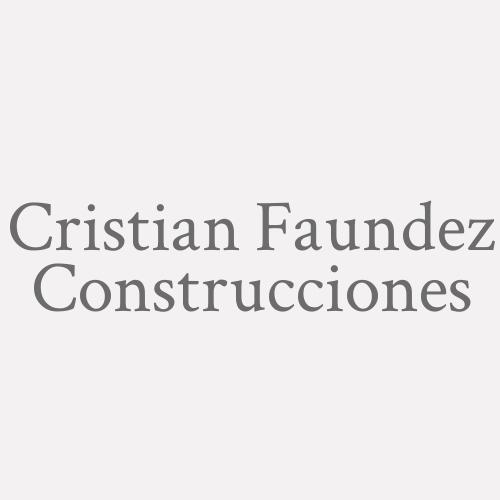 Cristian Faundez Construcciones