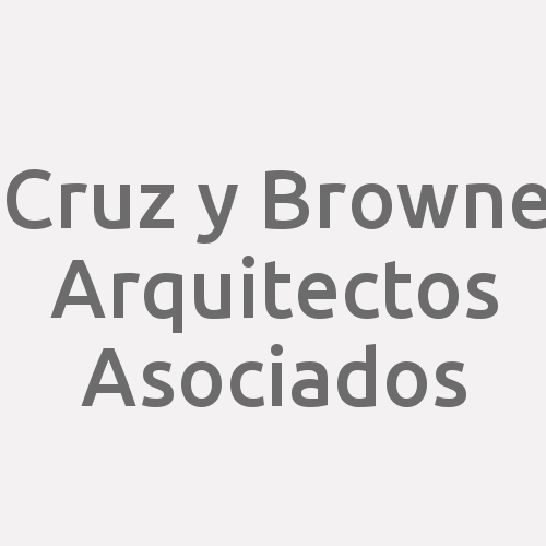 Cruz y Browne Arquitectos Asociados