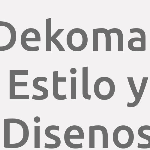 Dekomas Estilo y Disenos