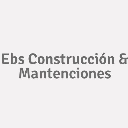 Ebs Construcción & Mantenciones