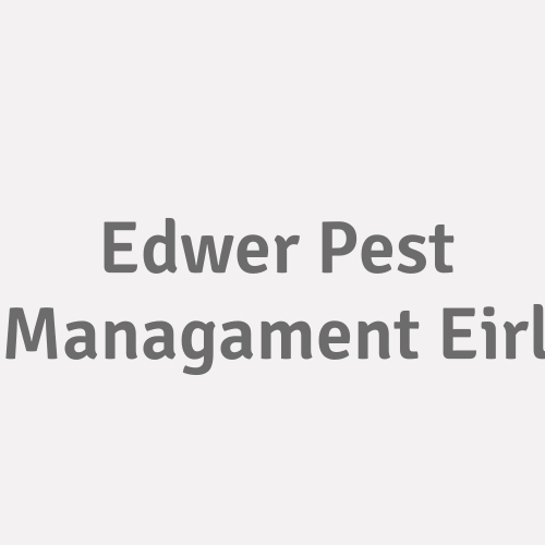Edwer Pest Managament E.i.r.l.