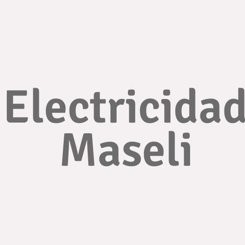 Electricidad Maseli