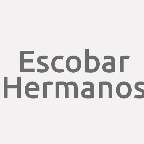 Escobar Hermanos