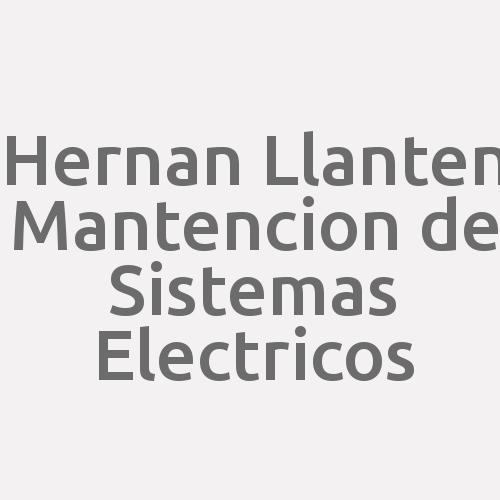 Hernan Llanten Mantencion De Sistemas Electricos
