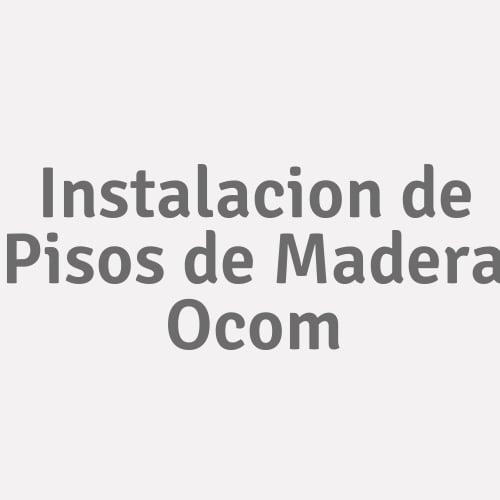 Instalacion de Pisos de Madera Ocom