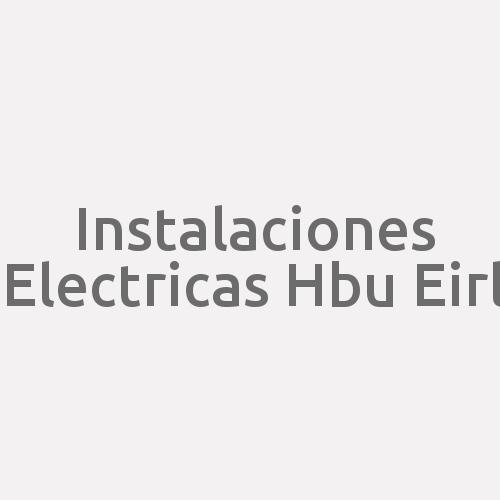 Instalaciones Electricas Hbu E.i.r.l