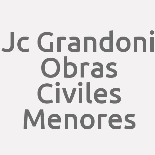 Jc Grandoni  Obras Civiles Menores