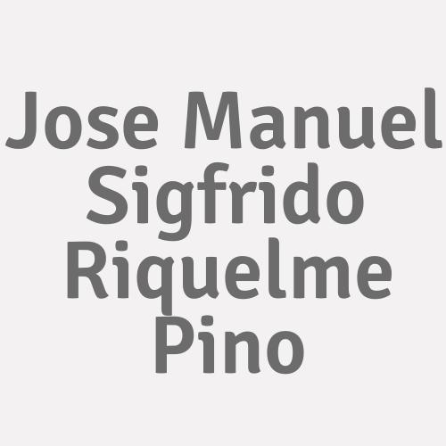 Jose Manuel Sigfrido Riquelme Pino
