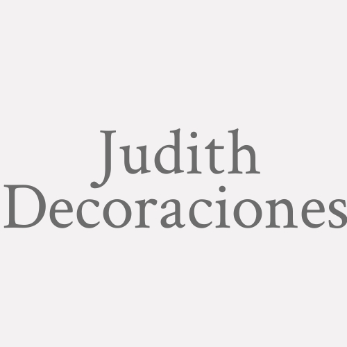 Judith Decoraciones