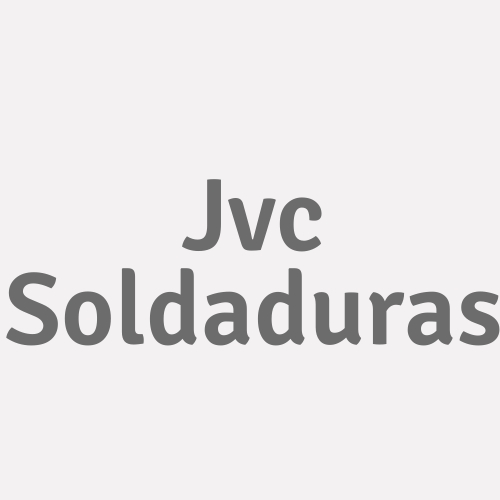 Jvc Soldaduras