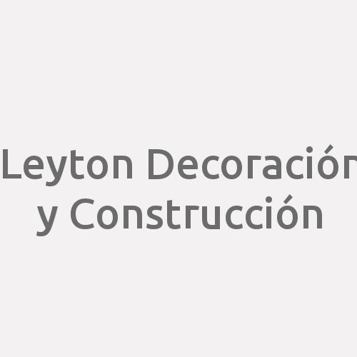 Leyton Decoración Y Construcción