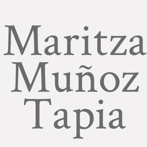 Maritza Muñoz Tapia