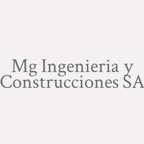 Mg Ingenieria y Construcciones SA