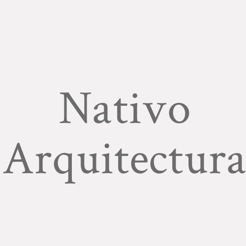 Nativo Arquitectura