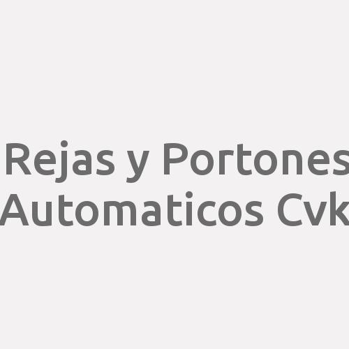 Rejas y Portones Automaticos Cvk