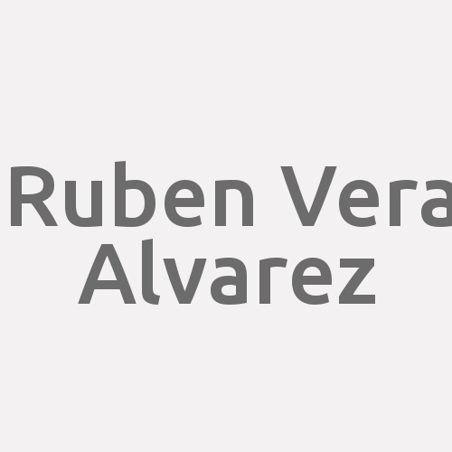 Ruben Vera Alvarez