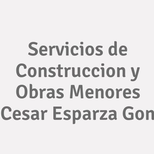 Servicios de Construccion y Obras Menores Cesar Esparza Gon