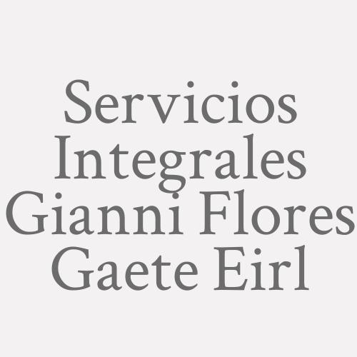 Servicios Integrales Gianni Flores Gaete Eirl