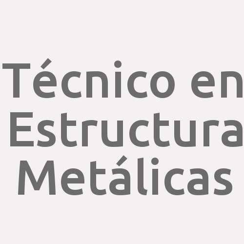 Técnico En Estructura Metálicas