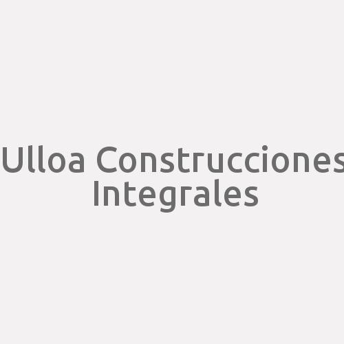 Ulloa Construcciones Integrales