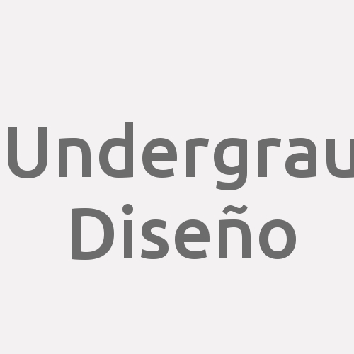 Undergrau Diseño