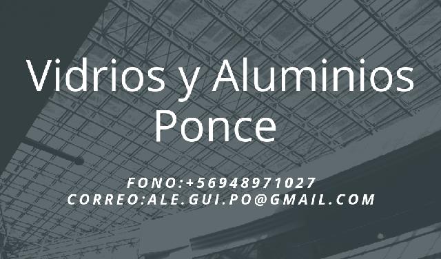 Vidrios Y Aluminios Ponce