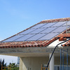 Panel solar para agua caliente