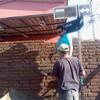 Construcción muralla de ladrillo