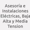 Asesoría E Instalaciones Eléctricas, Baja  Alta Y Media Tension